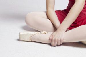バレエの三角骨障害で悩む少女