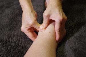 手足の痺れへのトリガーポイント治療