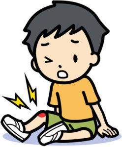 膝の痛み、男の子、オスグッド病